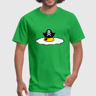 pirate sailor captain pirate sea ship boat sailing - Men's T-Shirt