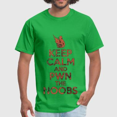 Battlefield 2 Keep Calm and Pwn the Noobs - Men's T-Shirt