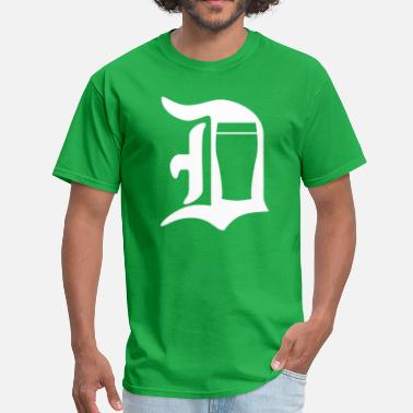Old English Letters Old English D Pint - Men's T-Shirt