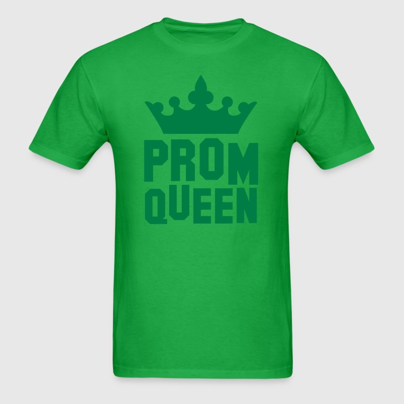 PROM QUEEN with princess queen crown - Men's T-Shirt