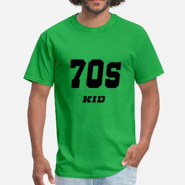 Helvetica Kids 70s kid - Men's T-Shirt