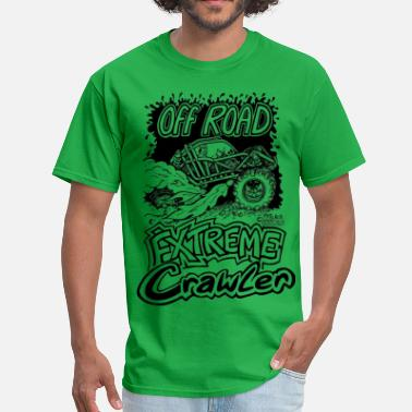 Rock Crawler Off Road Extreme Crawler.png - Men's T-Shirt