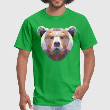 Polygonal Bear - Men's T-Shirt