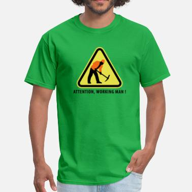 Demolition Man building_worker_09_2016_3c01 - Men's T-Shirt