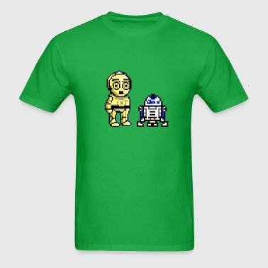 c3p0 and r2 - Men's T-Shirt