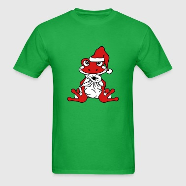 Christmas Santa Claus gifts sack winter Santa Clau - Men's T-Shirt