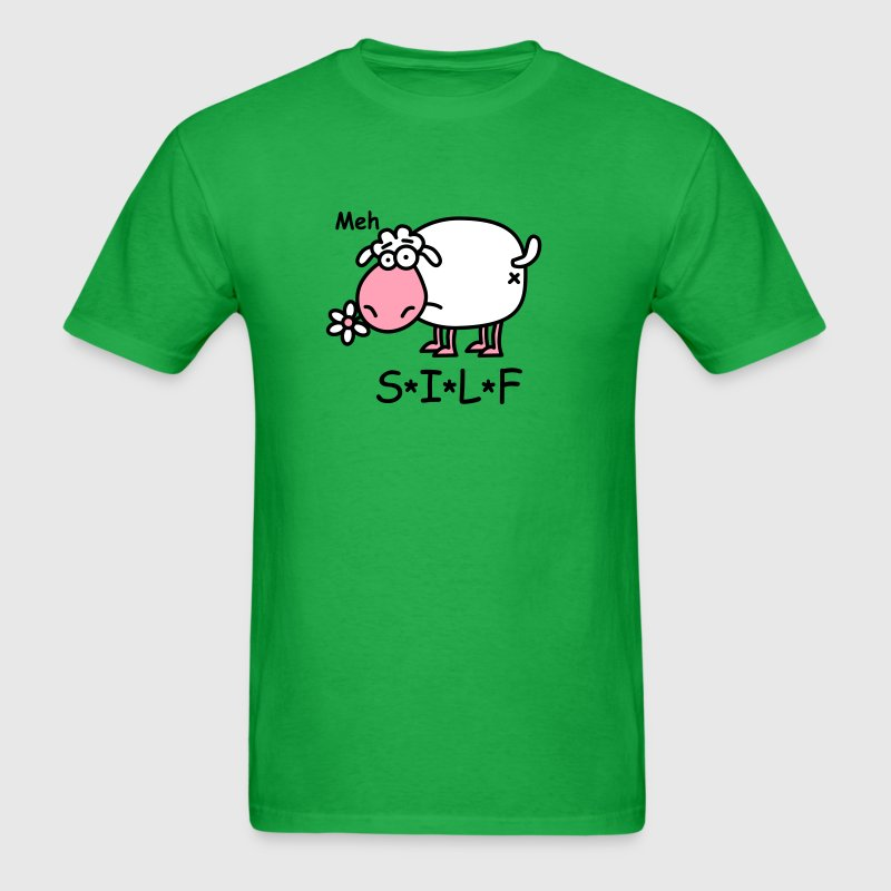 SILF - Sheep I Like to Fuck - Men's T-Shirt