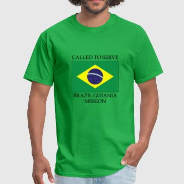 Called To Serve Brazil Goiania LDS Mission Called to Serve Flag - Men's T-Shirt