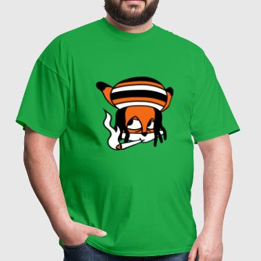 face head raggae jamaica joint kiffen stoner hemp - Men's T-Shirt