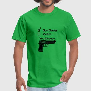 gun owner victim - Men's T-Shirt