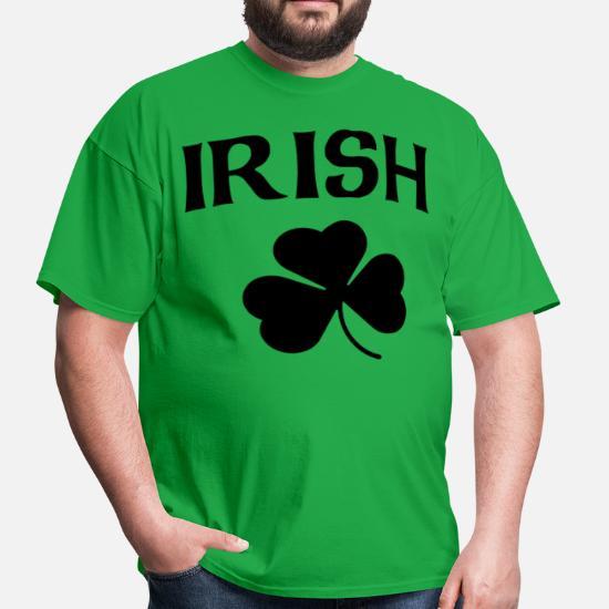 a95d4ccaa Front. Back. Back. Design. Front. Front. Back. Design. Front. Front. Back.  Back. St Patricks Day T-Shirts - Irish Black Shamrock ...