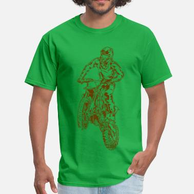 Dirt Jump Motocross Dirt Bike Jump - Men's T-Shirt