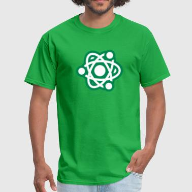 Atom Design Symbol Icon - Men's T-Shirt