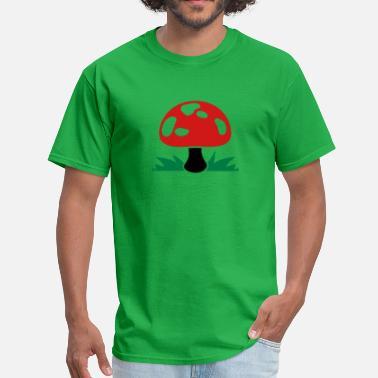 Drug Mushroom mushroom magic? drugs - Men's T-Shirt