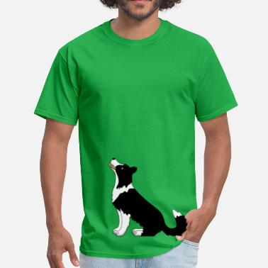 Obedience obedience border collie - Men's T-Shirt