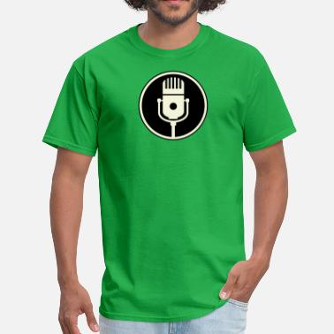 Microphone microphone vintage - Men's T-Shirt
