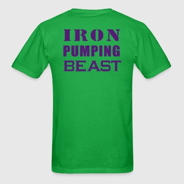 Iron Pumping Beast - Men's T-Shirt