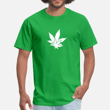 Maple Leaf Hemp Leaf - Men's T-Shirt