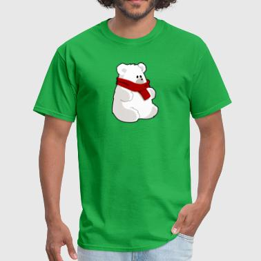 polar bear eisbaer nordpol north pole alaska7 - Men's T-Shirt