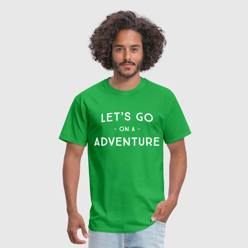 Let's go on an adventure - Men's T-Shirt