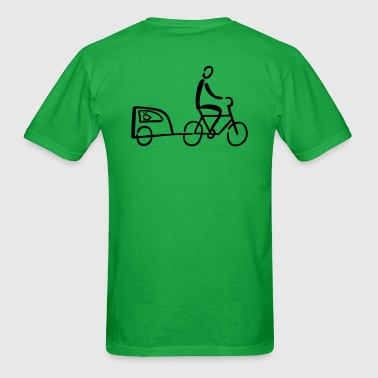 Bike Trailer - Men's T-Shirt