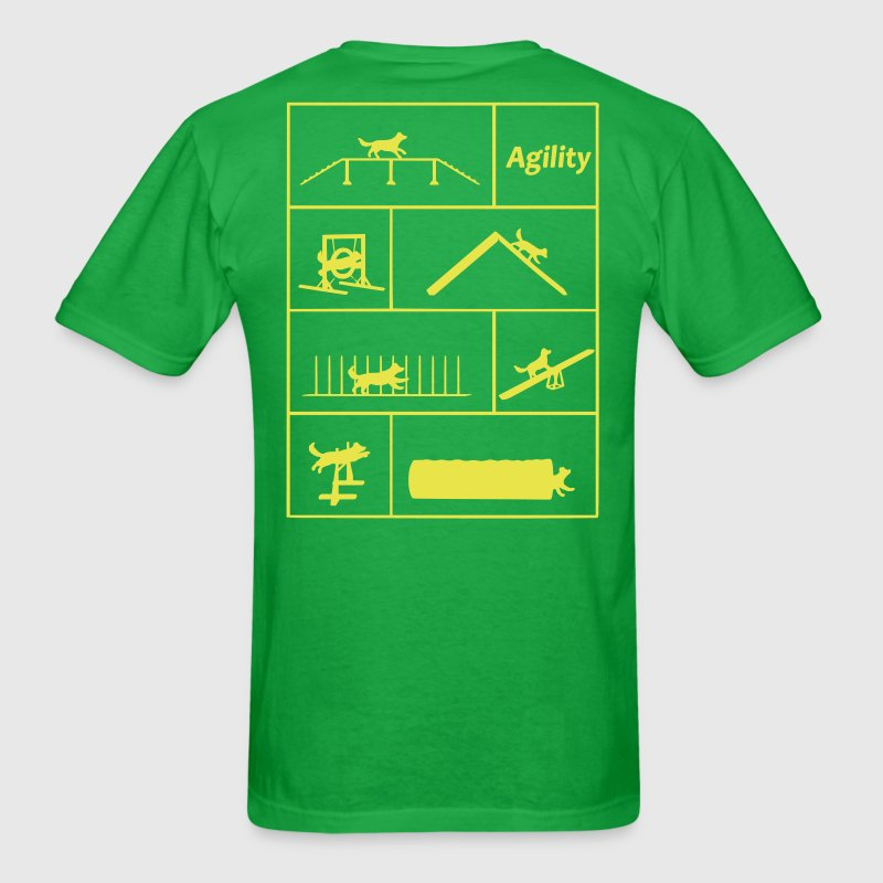 Agility obstacles - Men's T-Shirt