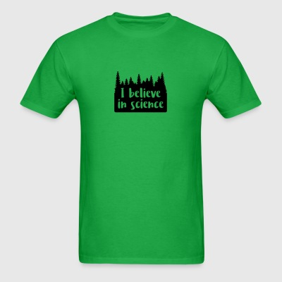 I believe in science - Men's T-Shirt