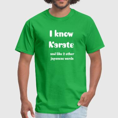 Karate Shirt - Men's T-Shirt