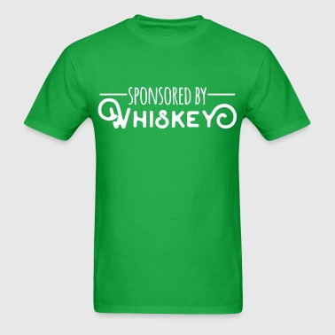 Sponsored By Whiskey - Men's T-Shirt