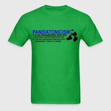 Pandiatonic (blue/black) - Men's T-Shirt