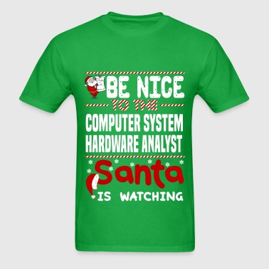Computer System Hardware Analyst - Men's T-Shirt