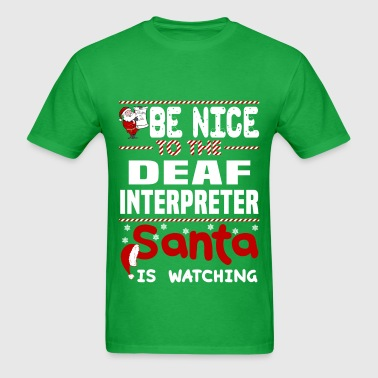 Deaf Interpreter - Men's T-Shirt