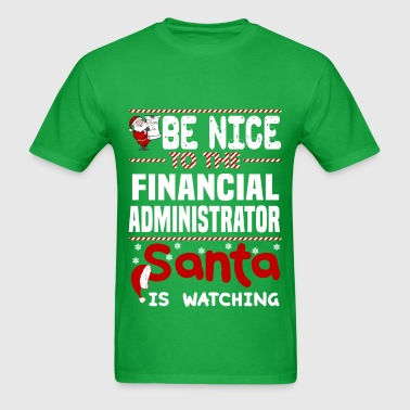 Financial Administrator - Men's T-Shirt