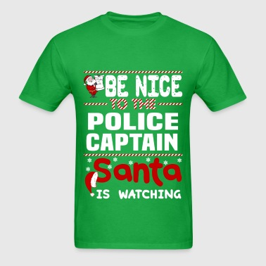 Police Captain - Men's T-Shirt