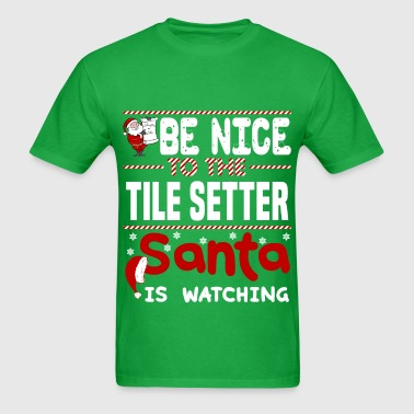 Tile Setter - Men's T-Shirt