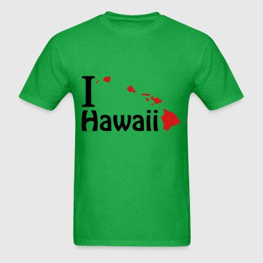 I love Hawaii - Men's T-Shirt