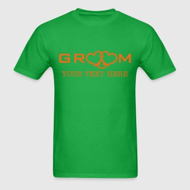 groom handcuff - Men's T-Shirt
