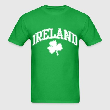 Ireland with Shamrock - Men's T-Shirt