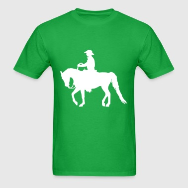 Arabian Horse: Western - Men's T-Shirt