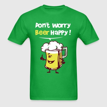 Beer happy - Men's T-Shirt