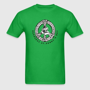 St Patricks Day Clover - Men's T-Shirt