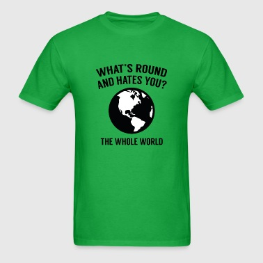 The Whole World - Men's T-Shirt