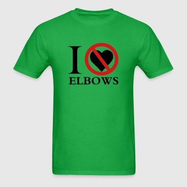 I No Heart Elbows - Men's T-Shirt