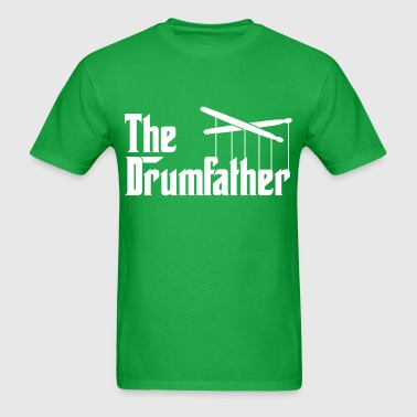 Drummer - The Drumfather - Men's T-Shirt