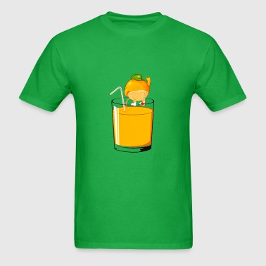 ORANGE PISS  - Men's T-Shirt