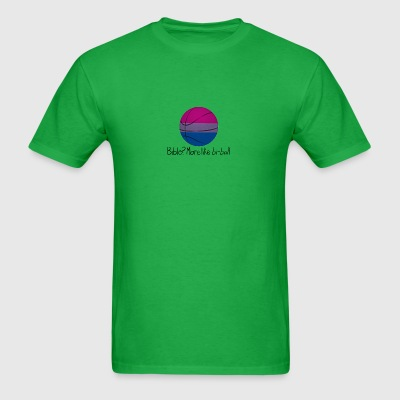 Bible? More Like BI-BALL! (Sexuality Pun) - Men's T-Shirt