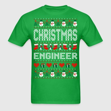 Christmas Engineer Ugly Christmas Sweater - Men's T-Shirt