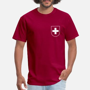 Sports Jersey Swiss Sports Jersey - Men's T-Shirt