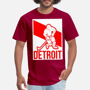 detroit hockey - Men's T-Shirt