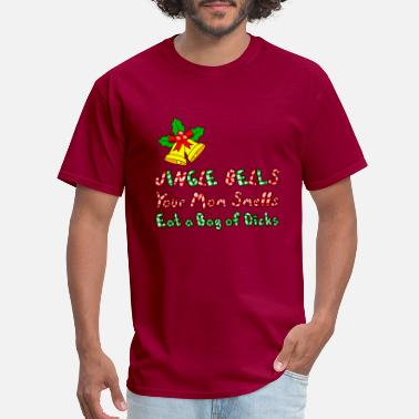 Jingle Bells Mom Smells - Men's T-Shirt